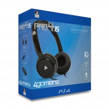 PRO4-15 Stereo Gaming Headset (PS4) Black