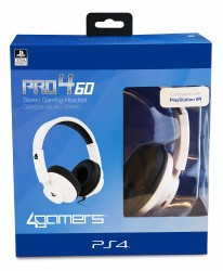 PRO4-60 Stereo Gaming Headset (White) Compatible with PlayStation VR