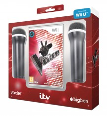 The Voice (with 2 x Microphones) Compatible with Wii U