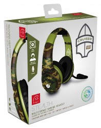 STEALTH XP-Cruiser Stereo Gaming Headset - Woodland Camo (Multi-Format)