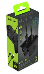 STEALTH SX-C10 Twin Play & Charge Battery Pack Black